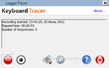 Keyboard Tracer